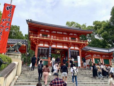 八坂神社と知恩院