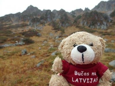 Day1-2 Latvijas Lācisの大冒険♪ 日本のアルプスをハイキング(千畳敷カールとホテルを満喫)