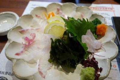 20201016 福岡 宿の真向かいの水槽のお店、せいもん払いで贅沢にお魚三昧