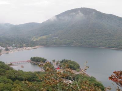 赤城山の山歩き(大沼湖畔・赤城神社から黒檜山・駒ヶ岳に登りました)