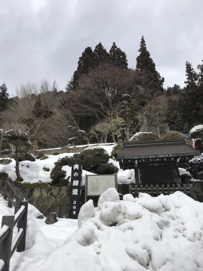 冬の山形 雪の山寺と温泉とグルメ