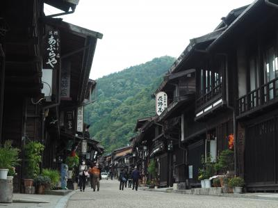 山装う 秋の御嶽山登山旅行 その3開田高原・奈良井宿観光編