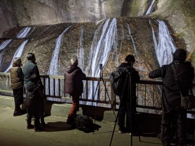 2020大子来人~ダイゴライト~日本三大名瀑の一つ袋田の滝ライトアップ夜間拝観