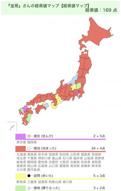 日本経県値マップを試してみた