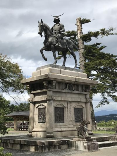 南東北城廻りドライブ旅行 その1 仙台城(青葉城)