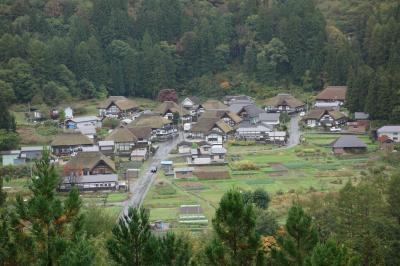 ☆ひっそりと佇む茅葺き屋根の集落☆ 2020年10月 重要伝統的建造物群保存地区・前沢集落