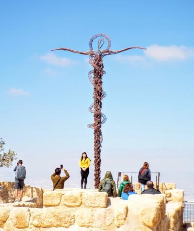 ヨルダン・イスラエルの旅 第13日目 死海→マタバ→アンマン ①