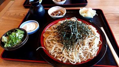 上田のはずれの蕎麦屋さん