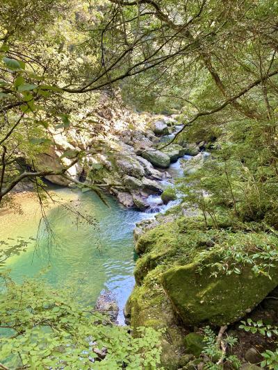 高千穂峡より素晴らしいという加江田渓谷