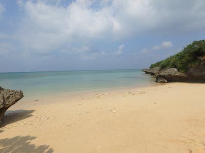 10月の石垣島で泳いできた②誰もいないビーチで遊ぶ