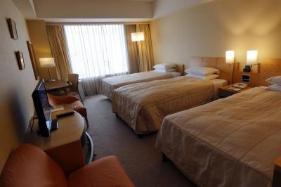 秋の東京ドームホテル1泊 東京ドームホテル ドームサイド・トリプルルーム 禁煙室