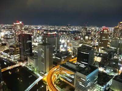 コンラッド大阪 スーパーラグジュアリーホテルで母の誕生日を祝う 前編