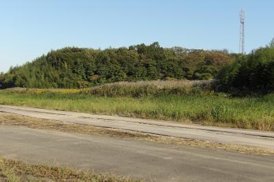 上永谷町境の荒野