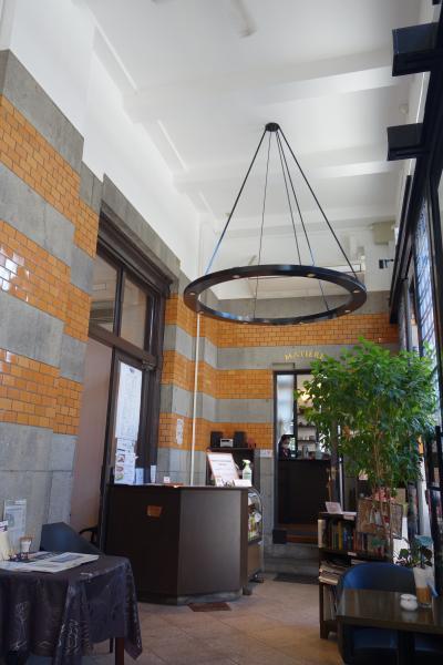 20201020-3 門司港 対岸への移動まで、旧大阪商船のえぇ感じの喫茶店、マチエール