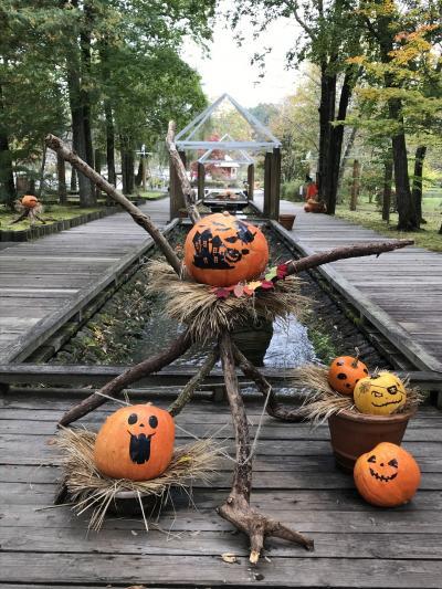 秋色に染まり始めた軽井沢の街歩き