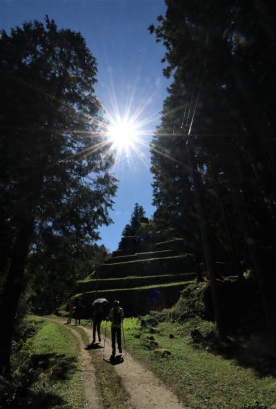 いにしえ人を想う旅♪ 素晴らしい展望の苗木城城跡&女城主の悲哀の物語の岩村城城跡を訪ねる♪