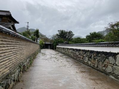 GoTo山口県へ ④土砂降りの萩