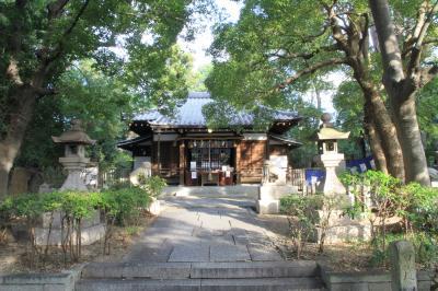 安居神社 真田幸村戦死の地