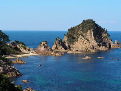 素晴らしい景色、浦富海岸