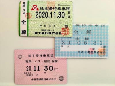路線バスで山梨→伊豆の乗継を試みる(序)