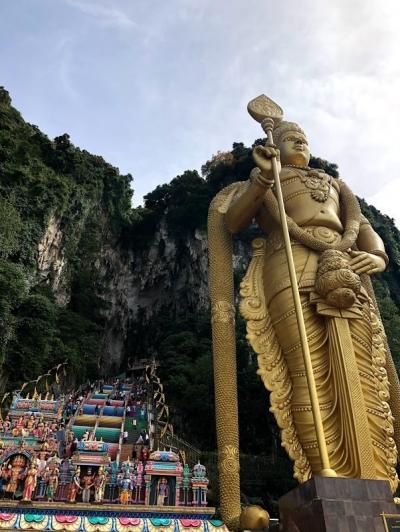 バンコク・シェムリアップ・クアラルンプール周遊旅行 ⑬ ~クアラルンプール編3 バトゥ洞窟~