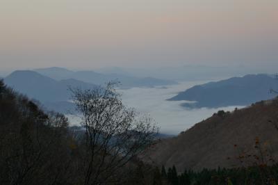 CRESSONで再スタート!大山の紅葉・雲海の朝