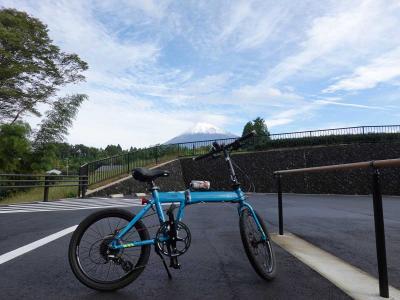 自転車でGO! 2020.10.18 =富士に雪が積もったので…=
