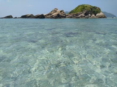 今年の長いお盆休みは阿嘉島へ~7日目 クシバルの海を満喫