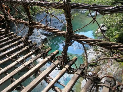 祖谷のかずら橋と大歩危峡ツアーに参加