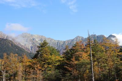 秋たけなわの上高地 帰りにちょっと松本へ ③