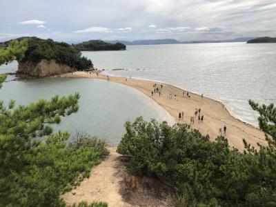 小豆島1泊2日観光(島宿真里泊) 初日 有名スポット観光と島宿真里(2020年9月)