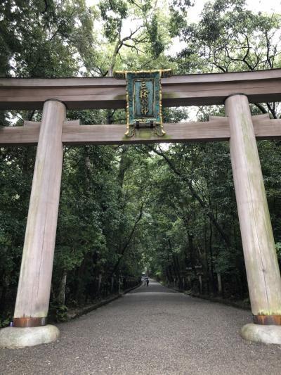 2020秋 雨の大神神社