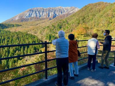 2020.10.25  紅葉の国立公園大山