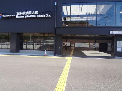 横浜市内秘境駅「羽沢横浜国立大学駅」に行く-2 相模鉄道 20年ぶりの乗車