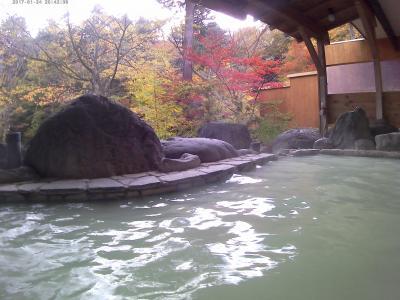 秘湯 塩原温泉郷元湯温泉で白濁の湯を楽しみました