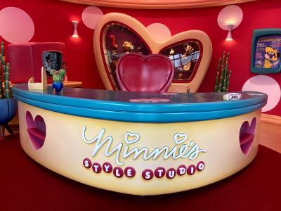 【祝!新エリアOPEN】ミニーのスタイルスタジオを体験してきた!