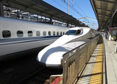 go to トラベルで東京と小倉を新幹線「のぞみ」グリーン車で往復