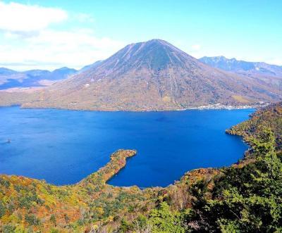 団塊夫婦の2020年日本紅葉巡りドライブー(関東4)絶景の日光・半月山展望台へ