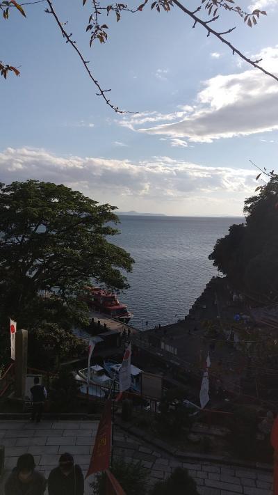 はじめまして♪滋賀県琵琶湖♪GOTO使ってみました。週末旅行はやはり人が沢山だよ~(*_*)  1日目