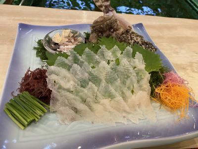 博多「稚加栄」で美味しい料理・福岡城址巡り・寿司「やま中」  Go To 山陽 (3)