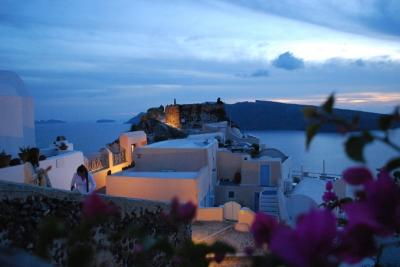 再びギリシャへ 3 サントリーニ島にて