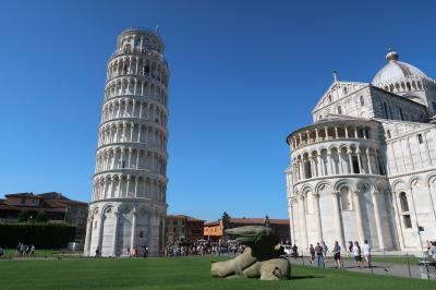 2019年夏イタリア11泊13日★カプリ島・ローマ・フィレンツェに泊まる★⑦前半・ピサの斜塔へ!