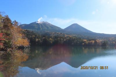 秋の北海道の旅⑤阿寒湖遊覧~オンネトー