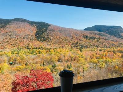 紅葉のニューイングランド11日間②コンウェイ観光鉄道で晩秋のニューハンプシャーをめぐる