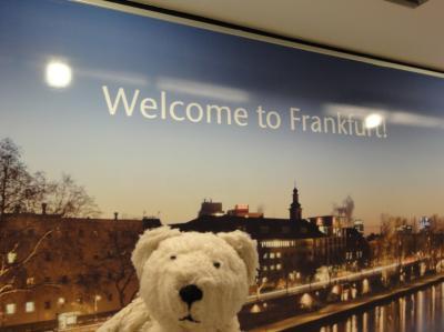 初めてのフランクフルト その1(韓国・ロシア・ドイツ・イギリス・フランス 14日間の旅 その5-1)フランクフルトに到着!