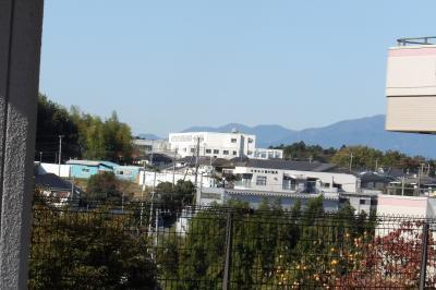 西洗の丘と特養ホーム すずかけの郷からは富士山が見えませんでした