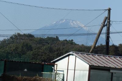 小山台小から見る富士山-2020年秋