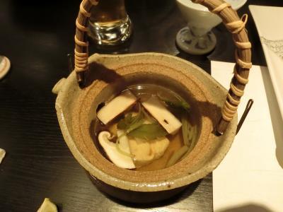 秋の味覚 松茸