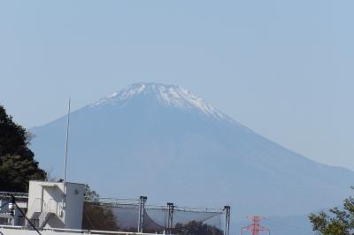 見晴橋から見る富士山-2020年秋