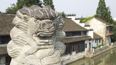 上海下町散策 松江倉城歴史文化風貌区界隈を行く
